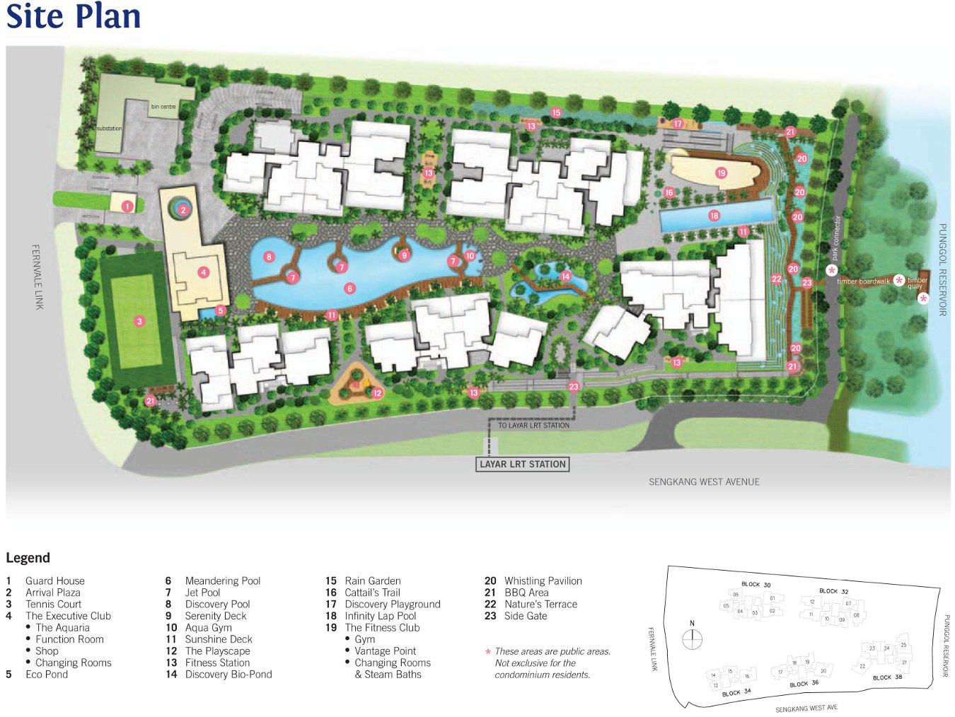 H2O Residences Site Plan